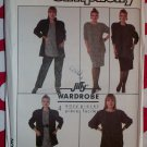 Vintage Easy Simplicity 8450 Jacket, Loose Top, Skirt & Pants Pattern, Sz 28W-32W, Uncut