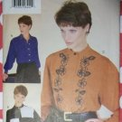 OOP Vogue Creative 9748 Misses Shirts Pattern, Size 12, 14, 16, Uncut