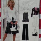 New Look Sewing Pattern 6609 Misses Separates, Size 10 12 14 16 18 20 22, Uncut