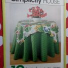 Vintage Simplicity 120,  10 Styles Table Covers