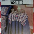 Vintage Simplicity House 8418,  10 Styles Table Covers