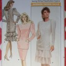 Vintage Butterick 5934 Misses top skirt pattern, Size 12, Uncut