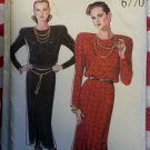 OOP New Look 6770 Misses Dresses Pattern, Size 10 to 18, Uncut