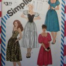Simplicity 6244  Misses Party Dress Sewing Pattern, Sz 10