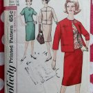 Vintage 50's Simplicity 5144 misses'  Suit and Overblouse, Size 16, Bust 36