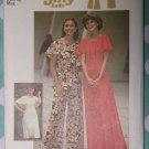 Vintage 1970s Jiffy Simplicity 7128 Pattern Knit Dress or Top and Pants Size 14 Uncut