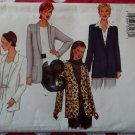 Butterick Pattern 6718 Misses or Petite Jacket Pattern, Sz 12 14 16, Uncut