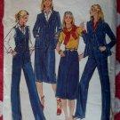 Vintage Butterick 5876 Junior Vest, Jacket, Skirt & Pants Pattern, Size 7, Uncut