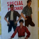 Simplicity 6630 Men's Casual Shirt Pattern, Sz 15, Chest 38, Uncut