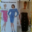 Simplicity 7669 Misses Damon Dress Sewing Pattern, Sizes 12 14 16, Uncut
