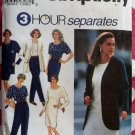 Simplicity 8174  Pants, Skirt, Dress or Top & Unlined Jacket Pattern, Plus Size 18 20 22 24, Uncut