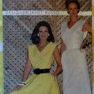 Designer Janet Russo Misses Dress Butterick 4963 Pattern, Size 14 Bust 36, Uncut