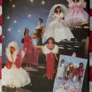 OOP Butterick 5061  Fashion Doll 6 Runway Formal Gowns & Organizer Pattern, Uncut