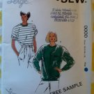 Kwik Sew 0000 Serged Misses T-Shirt Top Pattern, Sz  XS S M L XL, Uncut