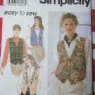 Easy Simplicity 9279 Misses Lined Vests Sewing Pattern,  Size 14 to 20