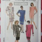Chemise Dress Simplicity 9410 Pattern, Size 14 to 20, Uncut