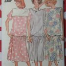Easy Misses' Maternity Dress Butterick 3645 Vintage Sewing Pattern, Size 12 14 16, Uncut