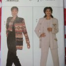 Easy Misses or Petite Jacket, Top, Pants Butterick 4091 Pattern, Plus Size 20 22 24, Uncut