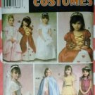 OOP Girls Bride, Queen, or Princess Costume Simplicity 9089 Pattern, Size 2 3 4 5 6, Uncut