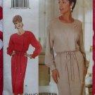 David Warren Design Misses or Petite Dress Butterick 3753 Pattern, Size 6 8 10, Uncut
