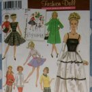 "Simplicity Archives Collection, by Teri Doll Wardrobe Simplicity 5785 Pattern, 11 1/2"", Uncut"