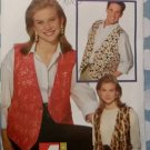 FAST and EASY Unisex Vest Butterick 6497 Pattern, Size XS to XL Uncut OOP
