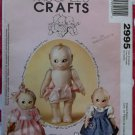 14 inch Kewpie Doll and clothes McCall's 2995 Pattern , Uncut