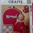 Kewpie Doll Clothes & Accessories Pattern McCalls 3072, Uncut