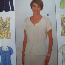 Simplicity Easy 8041 Pattern, Misses Blouse in 6 styles, Size 18, 20, 22 Bust 40, 42, 44 UNCUT