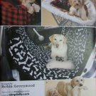 Travel Accessories Dogs,Car Seat Shopping Cart Cover Toys Simplicity 2984 Sewing Pattern, Uncut