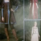 Misses Costume Gown & Laced over Dress Simplicity 1773 Pattern, Plus Sz 14 To 22, Uncut