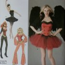 Costume Ballerina, Devil, Super Hero and Disco Simplicity 2067 Pattern, Plus Sz 14 To 22, Uncut