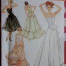 Misses Lingerie Petticoat and Corset Simplicity 5006 Pattern, Plus Sz 14 To 20, Uncut
