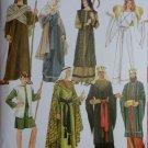 Simplicity Misses, Men or Teen Nativity Costumes Simplicity 4795 Pattern, Plus Sz XS To XL, Uncut
