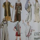 Adult Biblical Passion Play Costumes & Helmet  Simplicity 4213 Pattern, Plus Sz XS To XL, Uncut