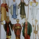 Simplicity Unisex Childs Nativity Costumes Simplicity 4797 Pattern, Sz S To L, Uncut