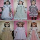 """Historical 18"""" Doll Clothes McCalls 3627 Pattern, Uncut"""