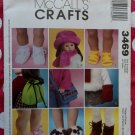 "18"" Doll Clothes Assessories McCalls 3469 Pattern, Uncut"