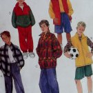 Boys Jacket, Vest, Top, Pullover, Pants, Shorts McCall's 8520 Pattern,  Sz 7 to 16, UNCUT