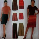 2 Hour Easy Misses Skirts Simplicity 9569 Pattern, Sizes 8, 10, 12, 14, UNCUT