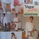 Easy OOP Vogue 2245 Misses Jacket Dress Top Shorts & Pants Pattern, Size 12 14 16, Uncut