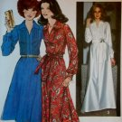 Vintage 1977 Simplicity 8249 Sewing Pattern, Maxi or Knee Length Dress, Sz 12, Uncut