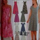 Misses Design Your Own Dress In 2 Lengths Pattern Simplicity 9559, Plus Size 14 16 18 20, Uncut