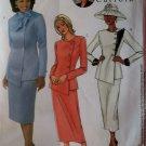Diahann Carroll Misses or Petite Jacket, Skirt Butterick B 4081 Sewing Pattern, Size 14 16 18, Uncut
