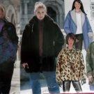 Easy Misses' Jacket Butterick 6774 Pattern, Size 12 14 16, Uncut
