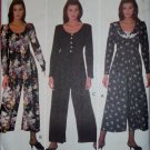 Easy Misses Jumpsuit Butterick 6441 Pattern, Size 12 14 16, Uncut