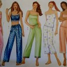 Butterick 6883 Sewing Pattern, Misses Camisole and Pants PJ's, Size 6 8 10 12 14, UNCUT