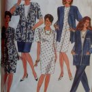 Simplicity 7896 Womens pants, Skirt, Dress, Tunic & Jacket Pattern, Plus Size 18W to 24W, Uncut