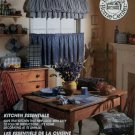 McCalls Home Decorating 2056 Pattern, Kitchen Essentials, UNCUT