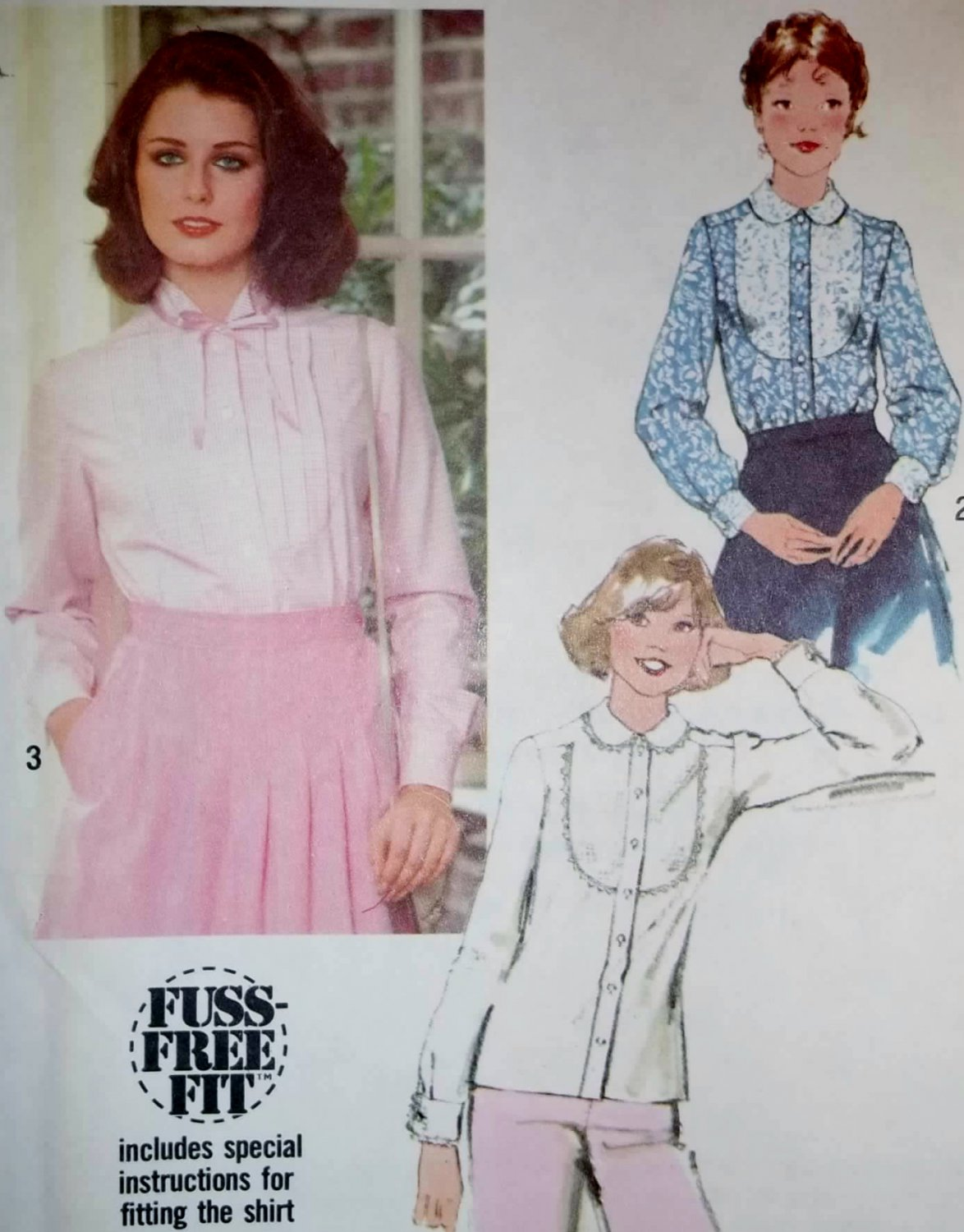 OOP Simplicity 8482 Pattern, Easy Misses Shirts, Size 10, UNCUT